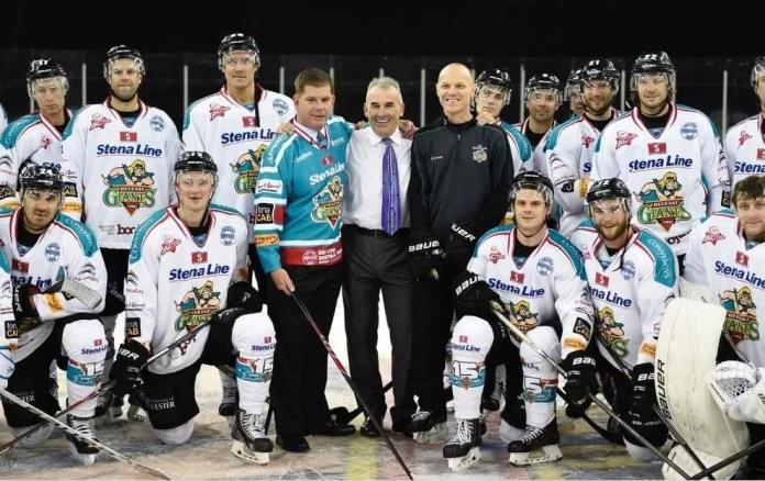 Boston Lord Mayor & Belfast Giants