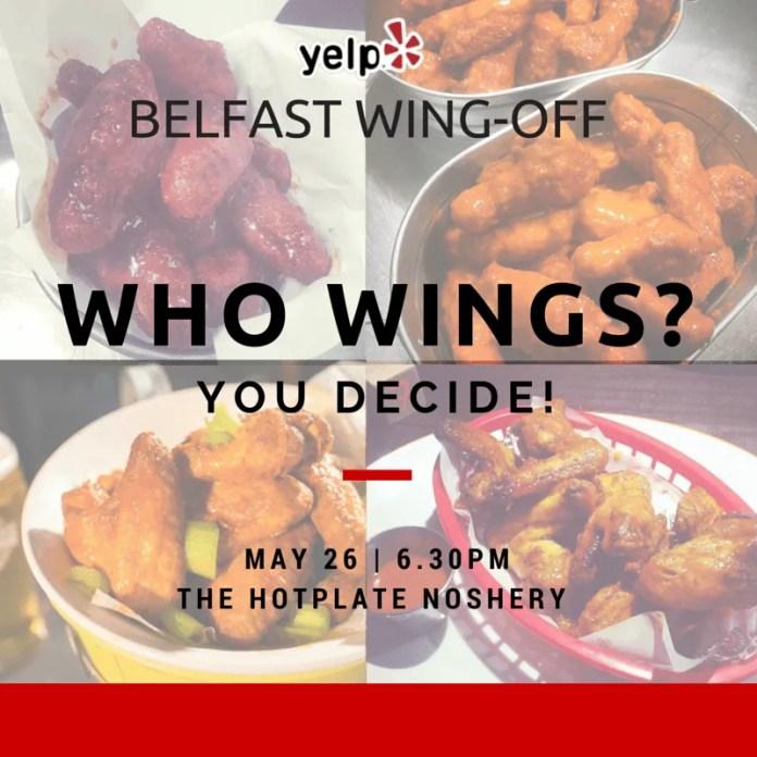 Yelp Belfast Wings