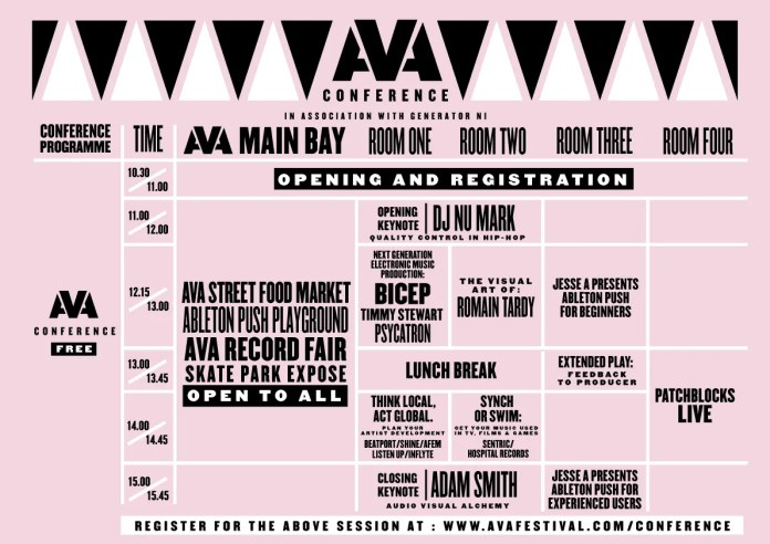 AVAConference Schedule