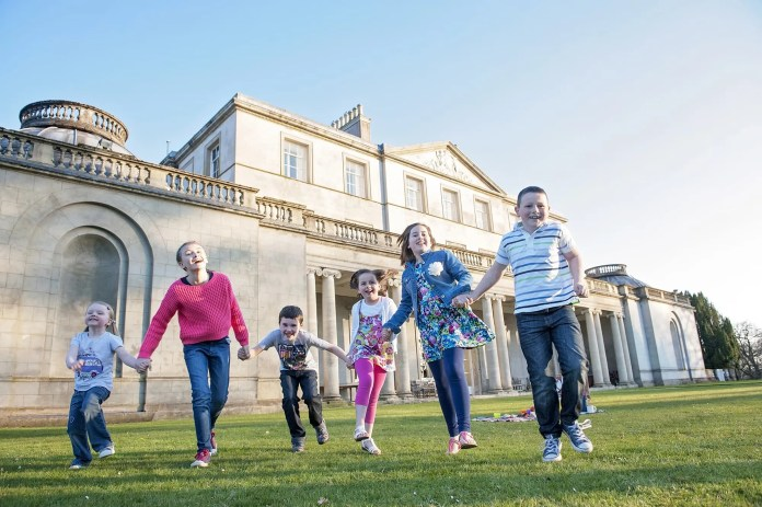Historic Caledon Castle Set To Host Craft Fair & Family Fun Day on Saturday 20th June Prestigious Caledon Estate and Castle will be welcoming the general public for the first time in 20 years. One of the finest properties in County Tyrone, Caledon Castle has announced that it will be opening the gates to its 3,000 acre woodland estate for the first time in over two decades, to welcome members of the public to a craft fair and family fun day, which will be held next Saturday 20th June. The current residents are the 7th Earl of Caledon and his wife, Lady Caledon.  Much to the excitement of the local residents, Lord and Lady Caledon have announced their intention to host a family day and will open the estate to welcome the public on Saturday, 20th June, 2015, starting at midday.  The day promises to be full of family fun and entertainment, with a range of attractions to be held in the grounds of the estate, with special guest, Dame Mary Peters. All proceeds will go to St. John's Parish Church in Caledon.  Visitors will be able to spend the day in and around Caledon Estate, and will be able to enjoy live music, bouncy castles, a hog roast, barbecues, afternoon tea and there will even be the opportunity to take a guided walk around the normally private grounds.  Entrance is £5.00 per person (under 12 FREE) with free car parking.  Dogs on leads welcome.  Local children, Daisy, Kaitlyn and Sam McCoy are pictured alongside Grace, Rachel and Harry Morrow getting into the swing of things ahead of the big day.