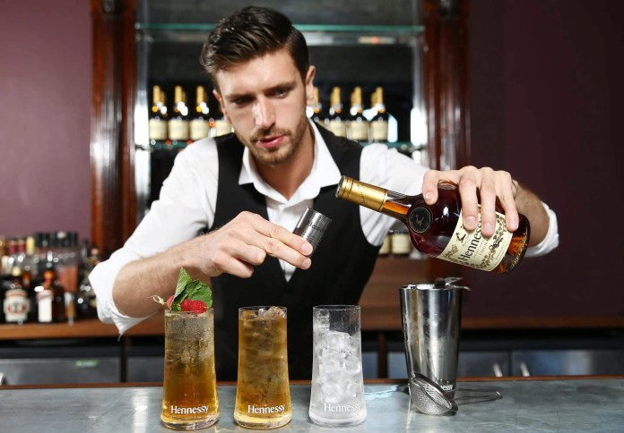 Piaras Smyth launches the Hennessy Connoisseurs Challenge.