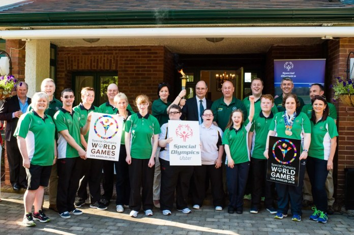 Ulster based Team Ireland athletes received a major boost to their preparations for the 2015 Special Olympics World Summer Games in Los Angeles (LA2015), with a special reception hosted by the US Consul General in Belfast.