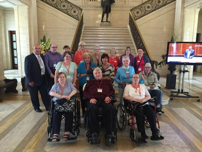 Day Hospice patients Stormont June 2015