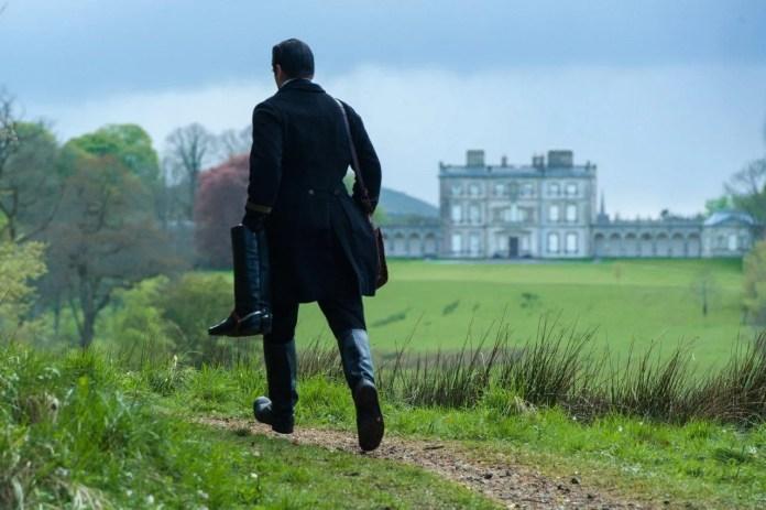 MJ Colin Farrell at Castle Coole