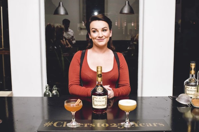 At the Hennessy Connoisseurs Challenge in Belfast on Tuesday 18th August, Roisin McErlean from The Albany, Belfast wowed the judges with her 'knowledge, research, skill and precision to be named one of three Hennessy Connoisseurs, alongside Frankie Cosgrove from sixty6 and Nanthaniel McAuley from Muriel's Café Bar, Belfast. Her classic serve 'The Irish Officer' paid homage to Hennessy founder, Irishman, Richard Hennessy and featured a heady mix of Hennessy VS, Redbreast 12 year Old Irish Whiskey, nutmeg, cinnamon, freshly squeezed orange juice and sugar syrup. Her creative cocktail serve, 'By Royal Appointment' included Hennessy VSOP, egg white, homemade orange sherbet, fresh ginger extract, lime juice and orange bitters. Judge Swanand Korgaonkar, head bartender at The Berkeley Hotel, London said: 'Roisin is a very precise bartender, with great presence and her perfectly constructed cocktails demonstrated great technique. I felt like I'd been transported back to 1904 watching one of the great, classic bartenders in action.' The Hennessy Connoisseurs Challenge was created by drinks company, Dillon Bass - owners of the Hennessy brand in Northern Ireland - to celebrate the 250th anniversary of the cognac brand. All three Hennessy Connoisseurs have won an impressive prize package, courtesy of Dillon Bass, which includes a VIP trip to Cognac to visit Maison Hennessy and Chateau Bagnolet, where they will receive one-on-one training, including a tasting with Hennessy's master blender. The Connoisseurs will also receive a bespoke training session with an Ambassadeur de la Maison Hennessy; tickets to a special Hennessy 250 dinner in Belfast and the opportunity to have their signature drinks showcased by the brand. Picture by Elaine Hill.