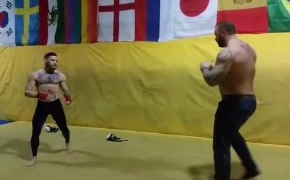 Conor McGregor vs Mountain