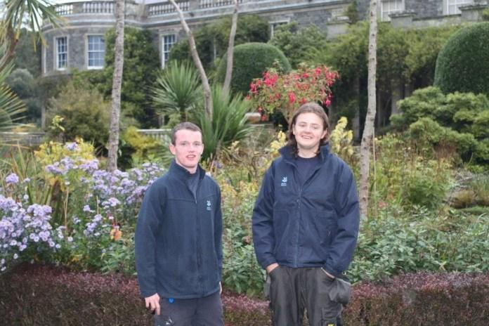 Kenneth Skelton and Ben Bridges Mount Stewart Garden Apprentice Scheme