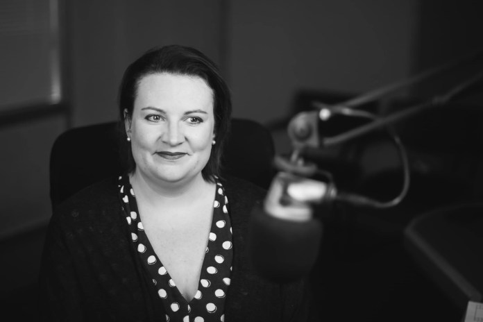 Naomi Holland, Downtown & Cool FM Bulletin Editor who was voted UK Newsreader of the Year