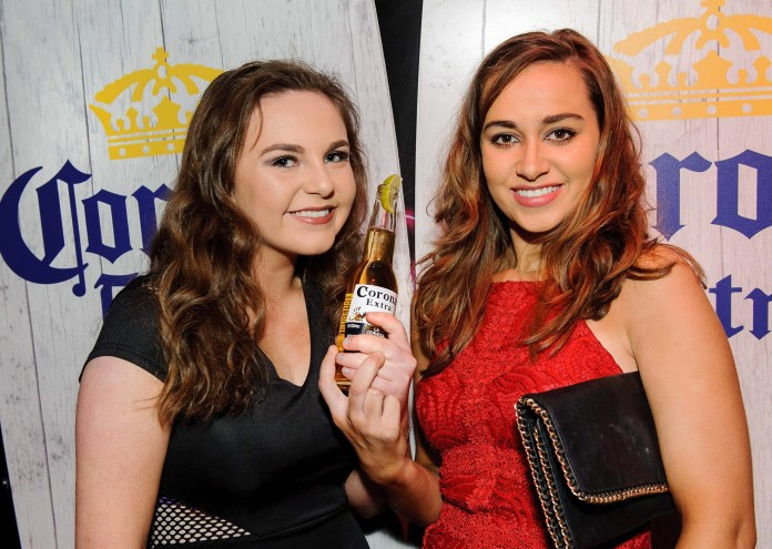 Pictured at the Easter Monday Corona Sunset Session at Secrets Nightclub, Magherafelt are Tracey Rodgers and Kerry Campbell, from Cookstown.