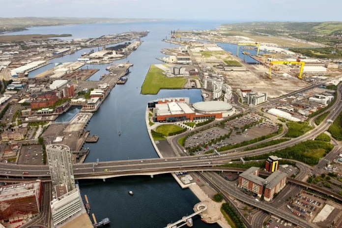 Belfast Harbour Aerial