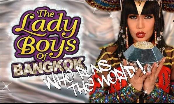 LADY BOYS OF BANGKOK 2017