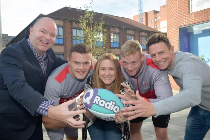 Q Radio Ulster Rugby Partnership