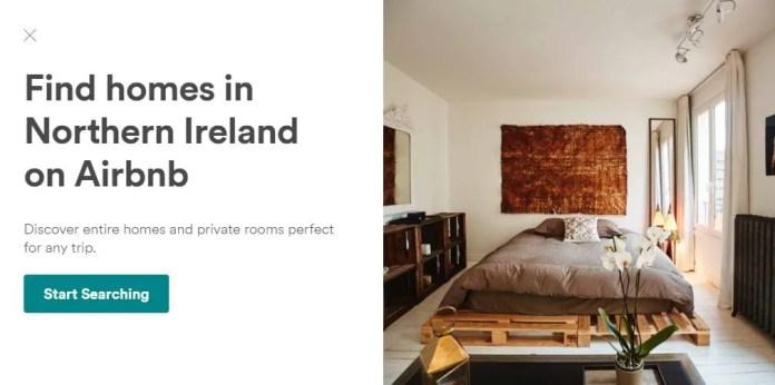 airbnb Northern Ireland