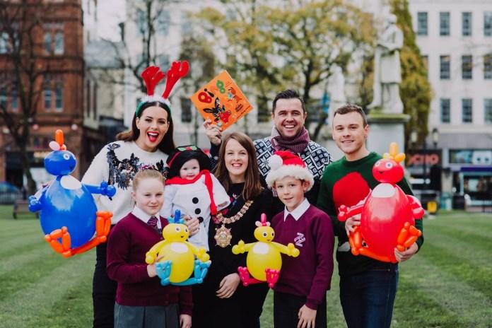 Belfast Christmas Lights Switch On