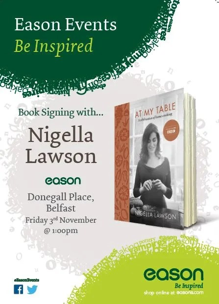 Nigella Lawson Belfast