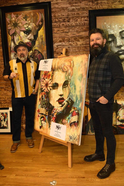 Terry Bradleys new gallery in Bangor