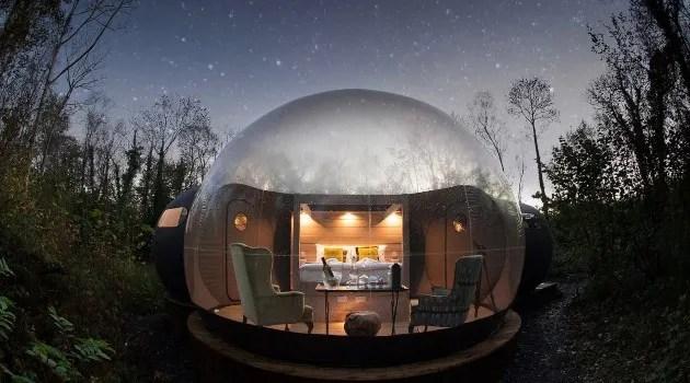 Finn Lough domes Northern Ireland