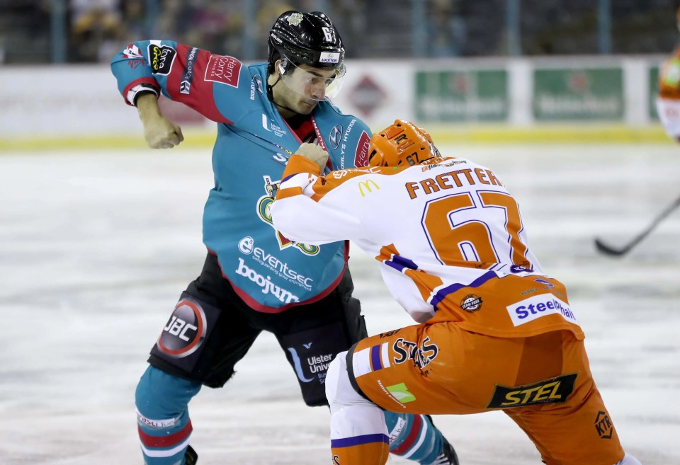 Belfast Giants v Sheffield Steelers