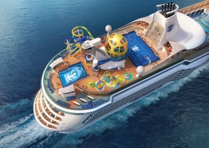 ROYAL CARIBBEAN REVEALS NEW 'SKY PAD' FEATURE