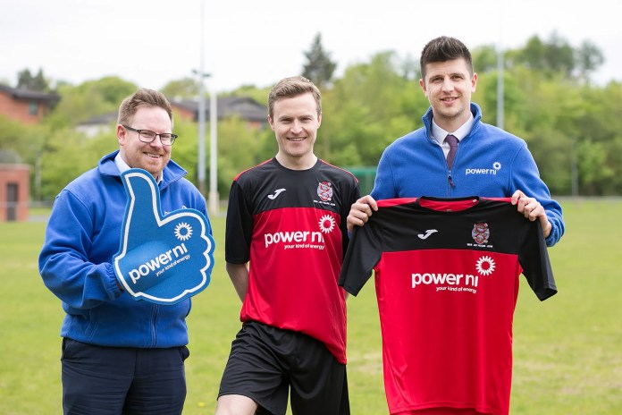 POWER NI GETS KITTED OUT WITH 8th OLD BOYS FC