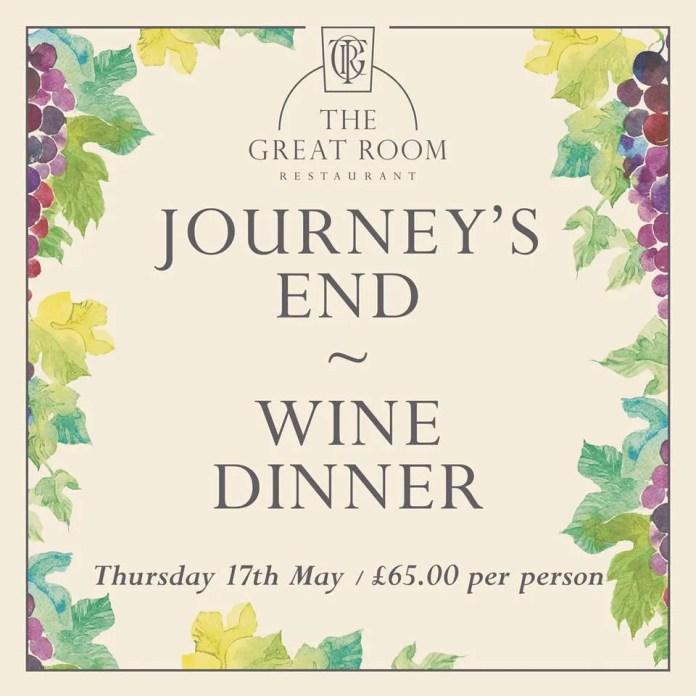 Journey's End Wine Dinner  Merchant Hotel