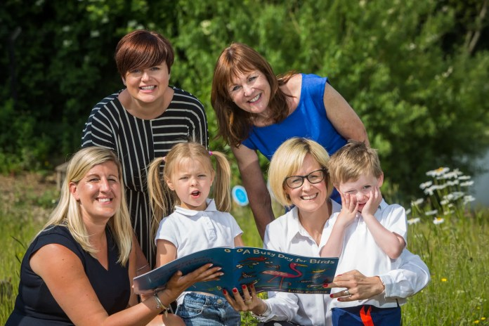 Local children boogie with the birds to celebrate BookTrust's National Bookstart Week