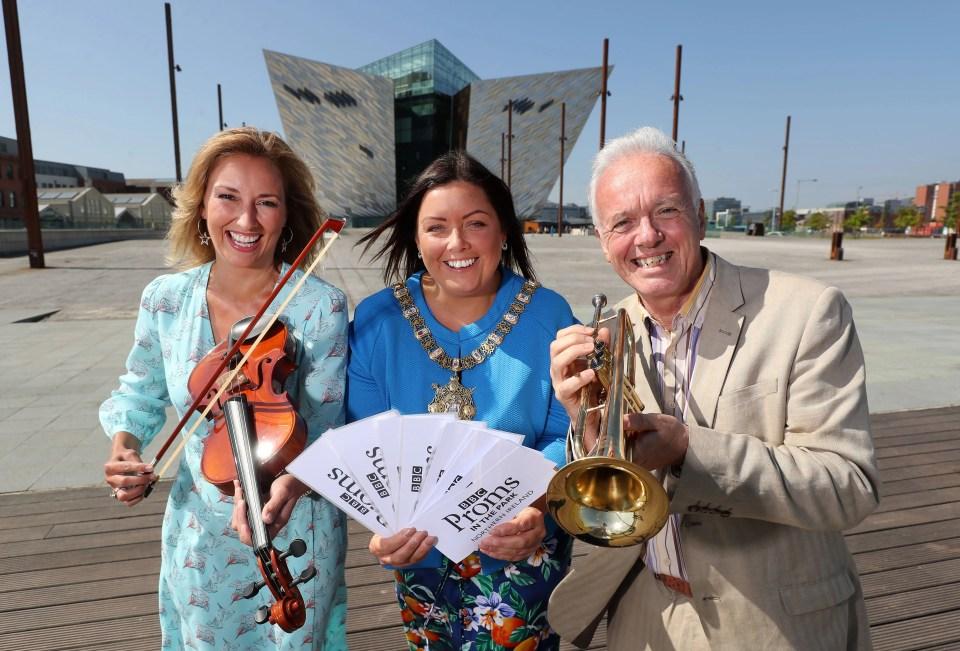 BBC Proms in the Park Returns To Titanic Slipways, Belfast