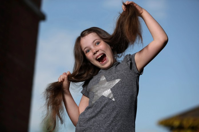 The Big Haircut for The Children's Cancer Unit Charity