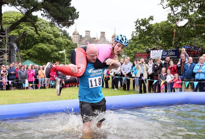 ALL IRELAND WIFE CARRYING CHAMPIONSHIPS