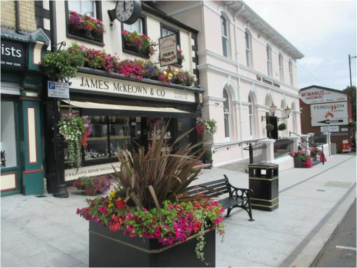 Randalstown are named Ireland's Best Kept Town at the Ireland Best Kept Awards.