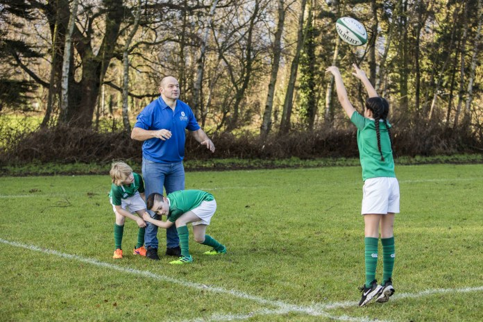 Scrum on Down! Rory Best teams up with Glenisk to host Kids' R