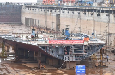 Stena E-Flexer Keel Laying in China