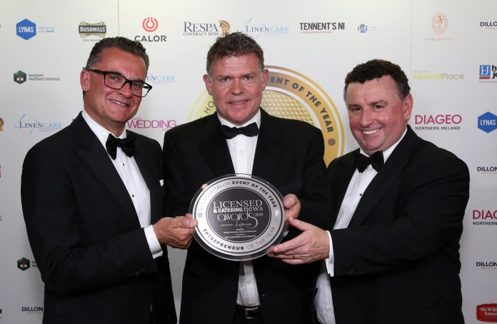 Kelly's Peter Wilson collects top entrepreneur title