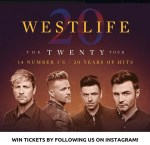 Win Two Tickets to Westlife on Saturday 25th May
