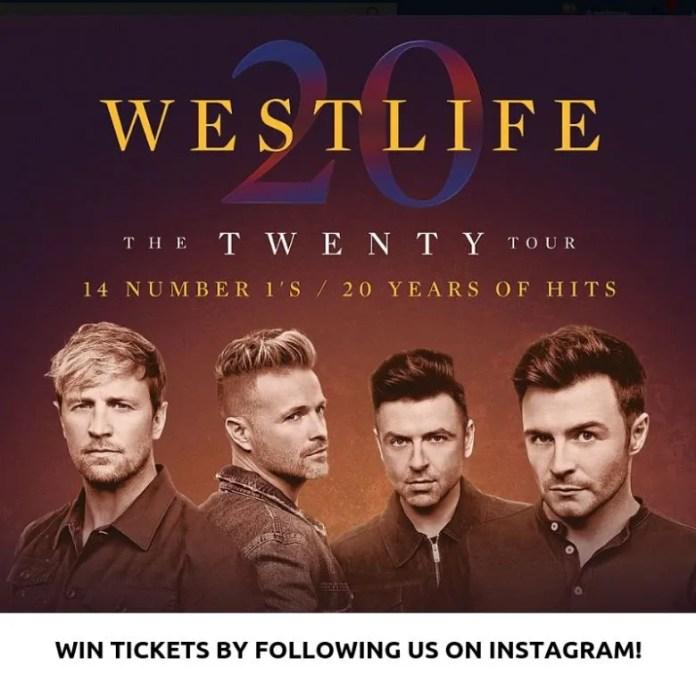 Win Westlife Tickets