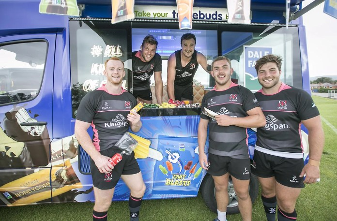 Dale Farm Ice Cream Ulster Rugby