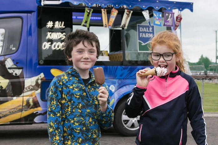 Dale Farm to melt hearts with free ice cream this summer