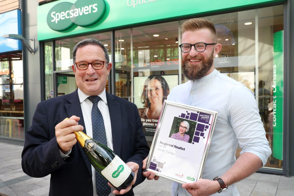 Specsavers Spectacle Wearer of the Year