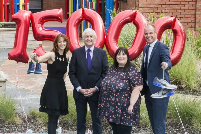 William Coates raise £15,000 for Mencap NI