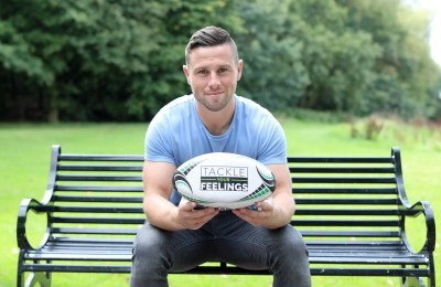 ULSTER RUGBY PLAYER JOHN COONEY SUPPORTS TACKLE YOUR FEELINGS APP