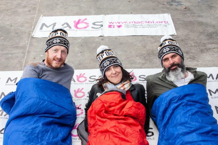 End Youth Homelessness Sleep Out