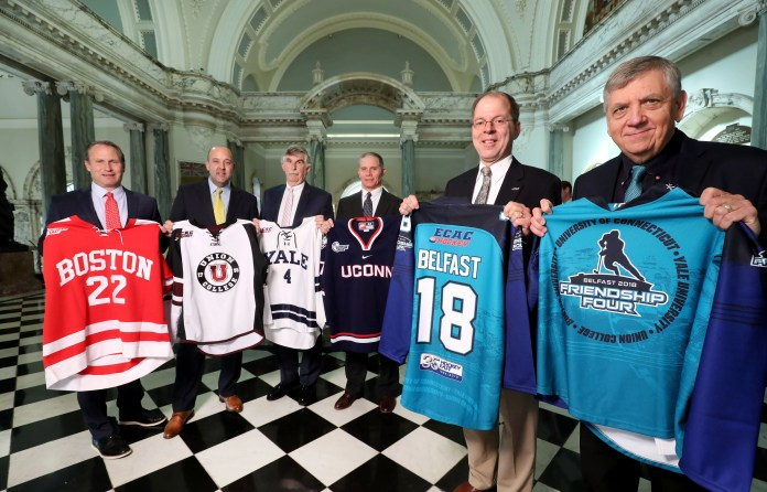 Friendship Four Hockey Tournament Returns to SSE Arena, Belfast
