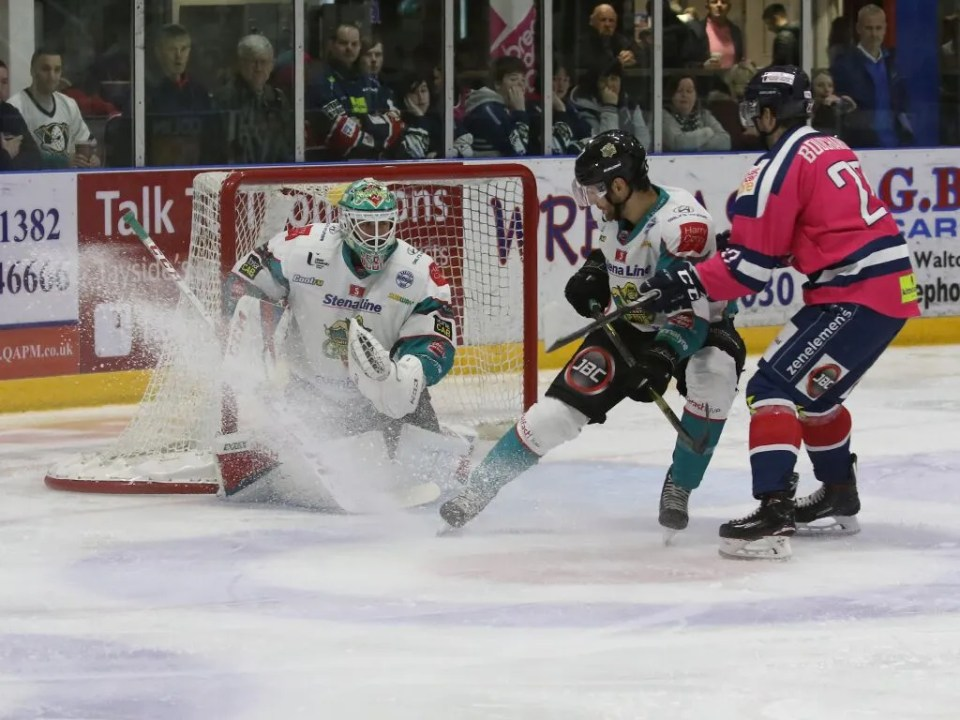 Belfast Giants vs Dundee Stars