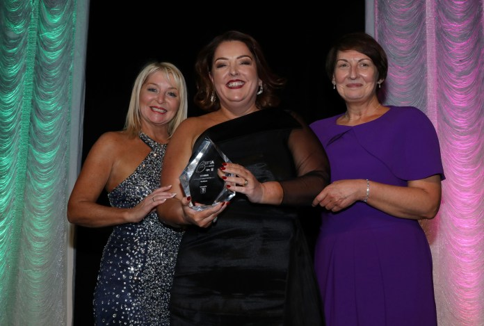 Tina McKenzie wins BEFTA18 Business Personality of the Year sponsored by First Trust Bank