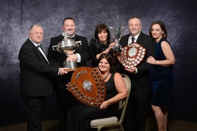 Morelli family at National Ice Cream Awards