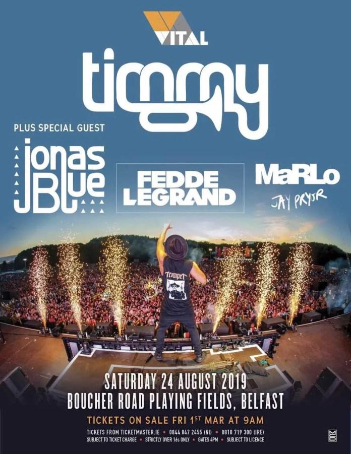 Timmy Trumpet Belfast