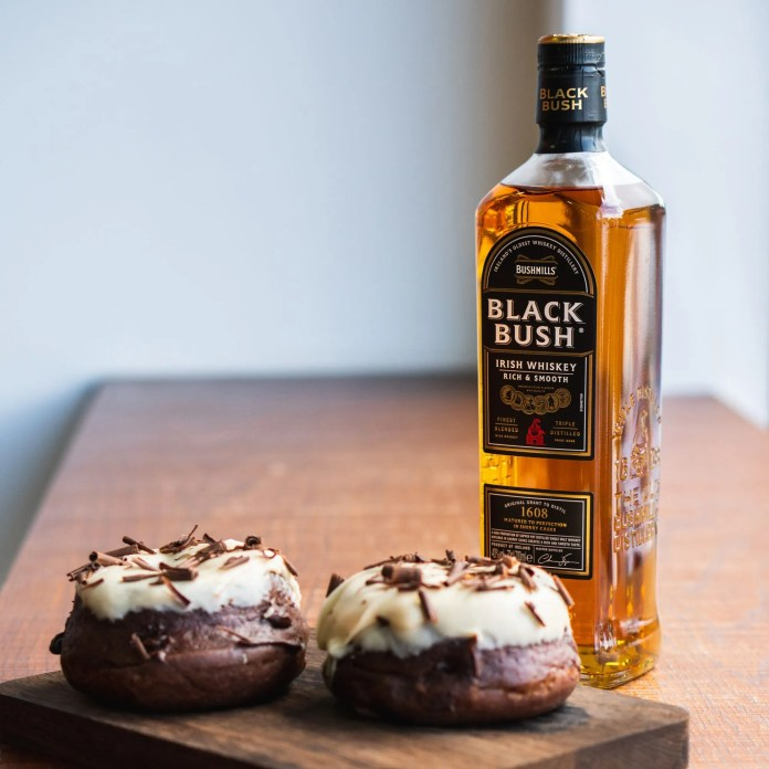 GUILT TRIP'S BUSHMILLS IRISH WHISKEY DONUT