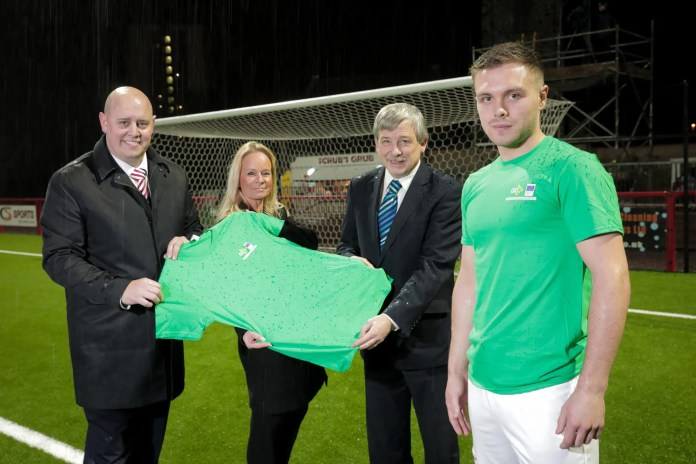 Mid and East Antrim Borough Council teams up with Larne FC to ur