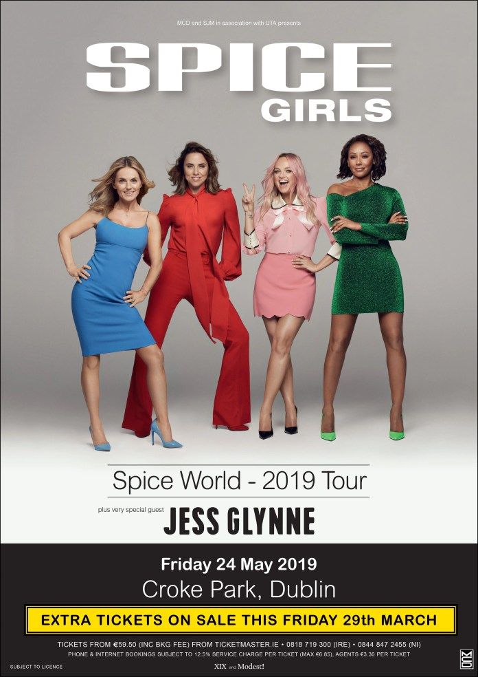 Spice Girls DUblin