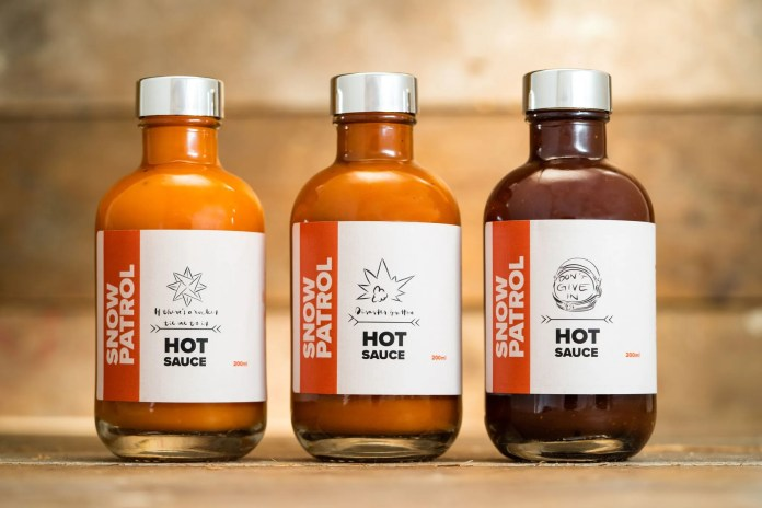 Snow Patrol sauces